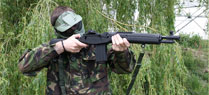 Guns for hire at Airsoft GB