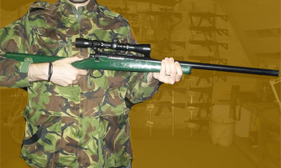 Airsoft VSR-11 for Hire at Airsoft GB